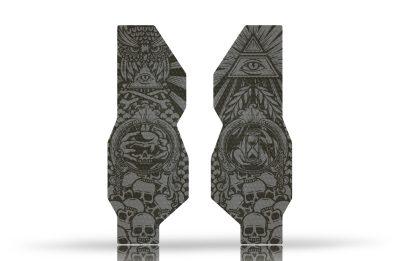 "Folie Protectie Furca Riesel Design ""forkguard"" Iluminati - Tape 3000-T3-FK008"