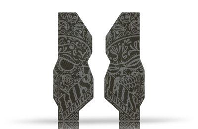 "Folie Protectie Furca Riesel Design ""forkguard"" Los Muertos - Tape 3000-t3-fk007"